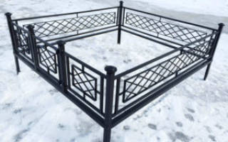 Сделать ограду на кладбище своими руками чертежи