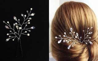 Как сделать заколку для волос своими руками