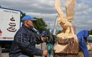 Что можно сделать бензопилой из дерева