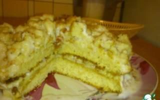 Как сделать банановый торт
