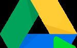 Как сделать гугл диск