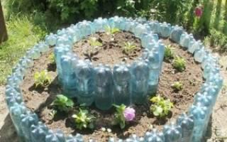 Сделать грядки из пластиковых панелей своими руками