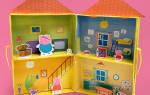 Как сделать домик для свинки пеппы