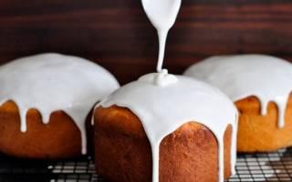 Как сделать белую глазурь для торта
