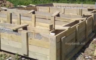 Какой фундамент сделать для дома из газобетона