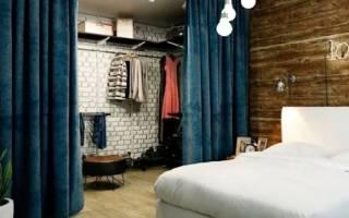 Как сделать гардеробную в квартире