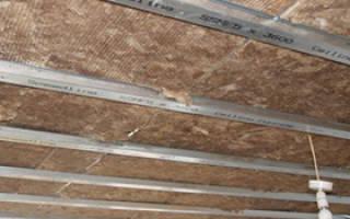 Сколько стоит сделать звукоизоляцию потолка