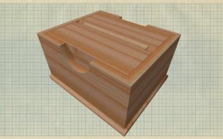 Как сделать из бумаги коробку для сигарет