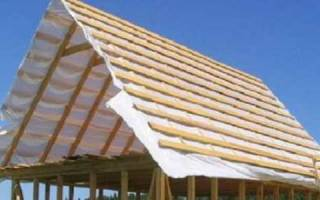 Как сделать двухскатную крышу дома