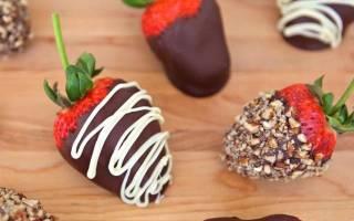 Клубника в шоколаде как сделать дома