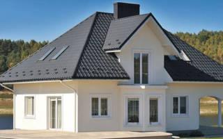 Крыша шоколадного цвета какой сделать фасад