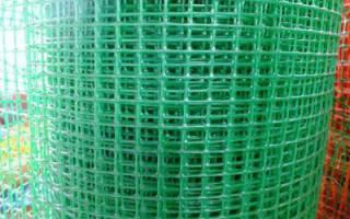 Как сделать забор из сетки пластиковой