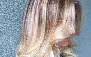 Сколько стоит сделать омбре на длинные волосы