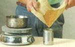 Как сделать казеиновый клей