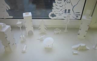 Как сделать город из бумаги