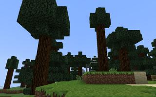 Как сделать дерево в майнкрафте