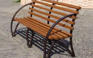 Сделать скамейку из профильной трубы