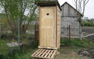 Как сделать дверь в туалет на даче