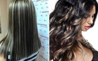 Сделать мелирование на окрашенные волосы