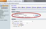 Как на phpmyadmin сделать таблицу для файлов