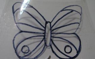 Как сделать бабочку из пластиковой бутылки