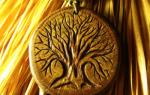 Как сделать амулет из дерева
