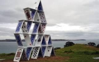 Как сделать башню из карт