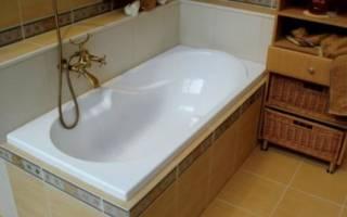 Как сделать бордюр в ванной