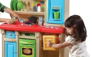 Кухня детская игровая деревянная сделать своими руками