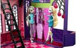 Как сделать домик для кукол монстер хай