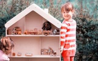 Как сделать дом для барби из коробки