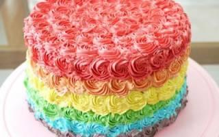 Как сделать зеленый крем для торта