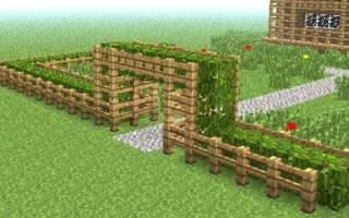 Как сделать забор из дерева в майнкрафте