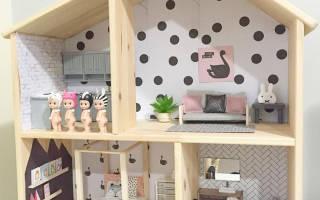 Видео как сделать дом для кукол