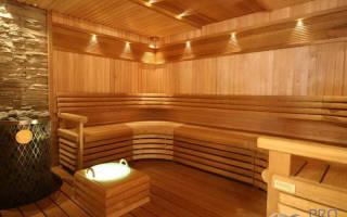 Какой потолок сделать в бане