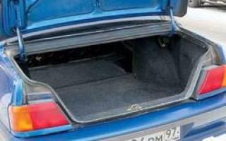 Ваз 2115 багажник не держится как сделать